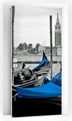 Naklejka na drzwi - Grand canal, Venice