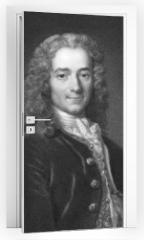 Naklejka na drzwi - Voltaire