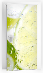 Naklejka na drzwi - Limette & Zitrone