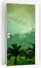 Naklejka na drzwi - Selva de Sumatra