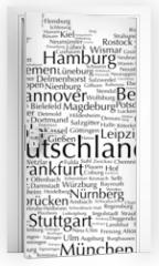 Naklejka na drzwi - Deutschland