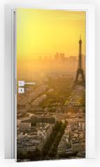 Naklejka na drzwi - Paris Tour Eiffel
