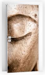 Naklejka na drzwi - Buddha