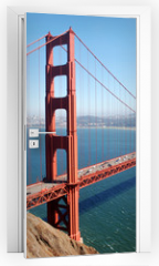 Naklejka na drzwi - Golden Gate Bridge