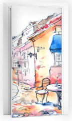 Naklejka na drzwi - France