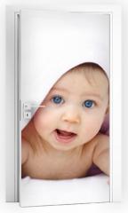 Naklejka na drzwi - bébé