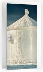 Naklejka na drzwi - Winter