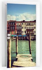 Naklejka na drzwi - Grand Canal, Venice, Italy