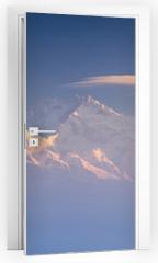 Naklejka na drzwi - Kanchenjunga range peak