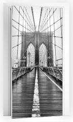 Naklejka na drzwi - Most Yore