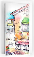 Naklejka na drzwi - Italy