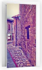 Naklejka na drzwi - Street