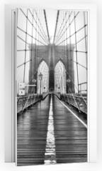 Naklejka na drzwi - The Bridge of Yore