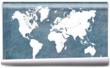 Fototapeta - World map, vintage