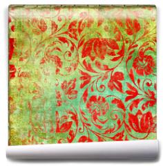 Fototapeta - retro floral patterns