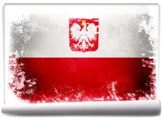 Fototapeta - Flaga Polski