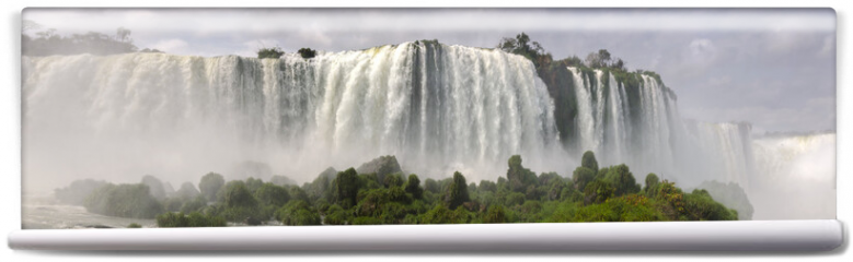 Fototapeta - waterfall Iguacu Falls in Brazil and Argentina