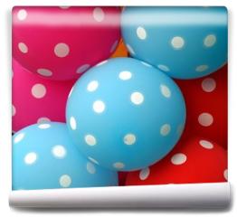 Fototapeta - Colorful Balloons Make a Happy Mood