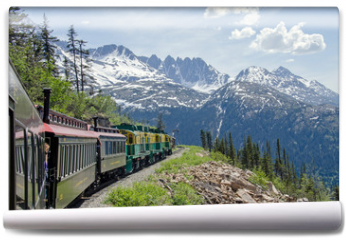 Fototapeta - White Pass & Yukon Route Railroad