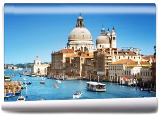 Fototapeta - Basilica Santa Maria della Salute, Venice, Italy