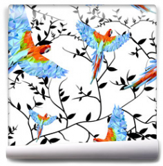 Fototapeta - Papuga geometryczna1