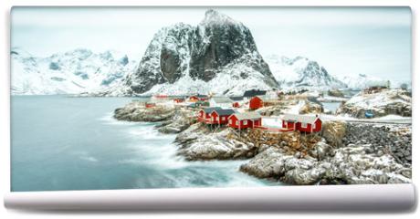 Fototapeta - Fisherman's village, Lofoten island