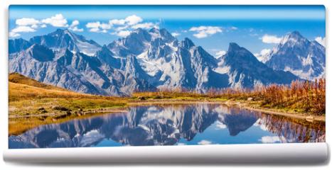 Fototapeta - Koruldi Lake, Svaneti