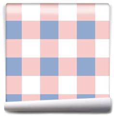 Fototapeta - Rose Quartz Serenity White Chessboard Background Vector Illustration