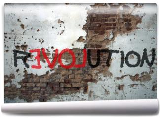 Fototapeta - Révolution, graffiti