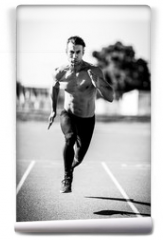 Fototapeta - Sprinter man