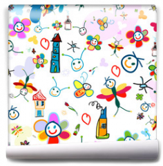 Fototapeta - background for kids