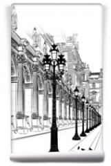 Fototapeta - Paris: Classical architecture