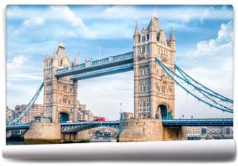 Fototapeta - London Tower Bridge am Tag