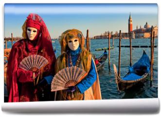 Fototapeta - Masks in Venice, Italy