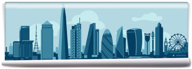 Fototapeta - London City Skyline