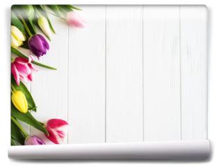 Fototapeta - Spring tulips flowers