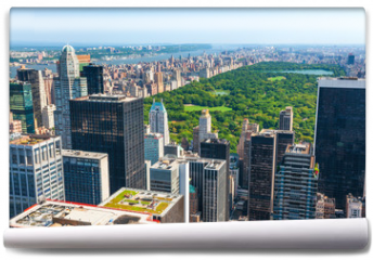 Fototapeta - New York skyline and Central Park