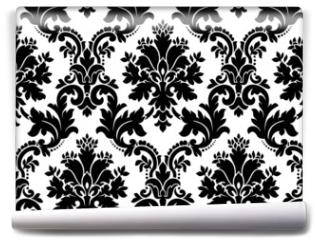 Fototapeta - Vector. Seamless damask pattern