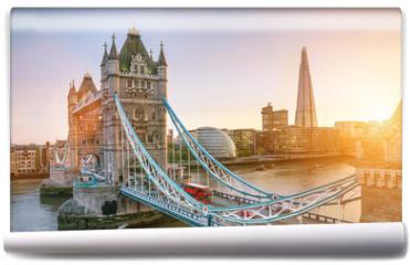 Fototapeta - The london Tower bridge at sunrise