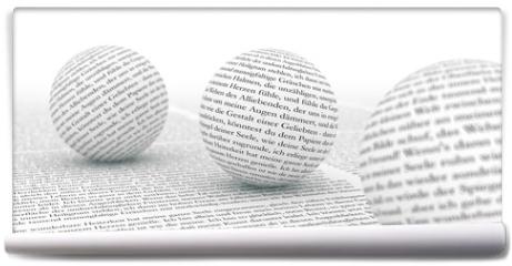 Fototapeta - Text im Focus