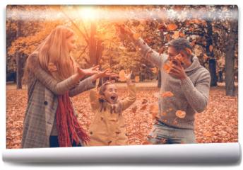 Fototapeta - Herbst spaß