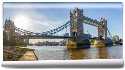 Fototapeta - London Tower Bridge panoramic view