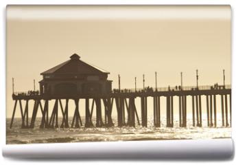 Fototapeta - huntigton beach pier 2 of 4