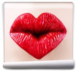 Fototapeta - saint valentine lips