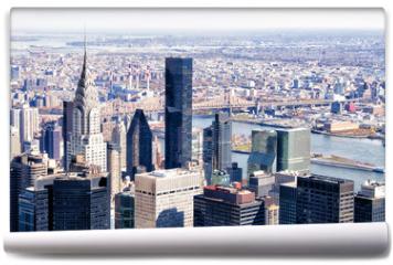 Fototapeta - New York city skyscrapers from above