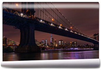 Fototapeta - New York Skyline at night