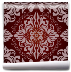 Fototapeta - Abstract seamless floral pattern
