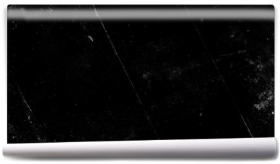 Fototapeta - Black scratched grunge background, old film effect, space for text