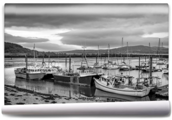 Fototapeta - Irish Fish Boats in Harbor