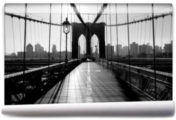 Fototapeta - Brooklyn Bridge, Manhattan, New York City, USA